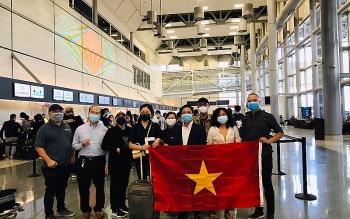 Thêm chuyến bay đưa 360 công dân Việt Nam từ Hoa Kỳ về nước an toàn