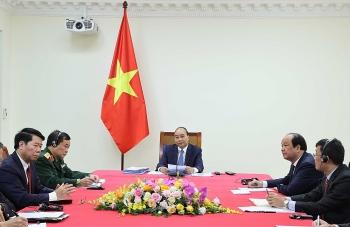 Thủ tướng Nguyễn Xuân Phúc và Thủ tướng Hun Sen vui mừng trước quan hệ láng giềng hữu nghị, hợp tác toàn diện Việt Nam - Campuchia