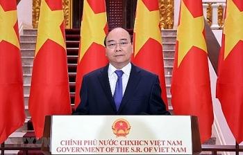 Thủ tướng Nguyễn Xuân Phúc dự Lễ Khai mạc Hội chợ và Hội nghị thượng đỉnh Thương mại - đầu tư Trung Quốc - ASEAN lần thứ 17