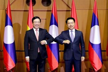 Việt Nam - Lào: đôn đốc triển khai các dự án hợp tác trọng điểm giữa hai nước