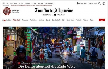 Báo Đức ca ngợi Chính phủ Việt Nam luôn