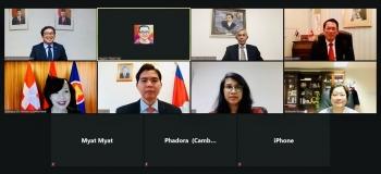 ĐSQ Việt Nam tại Thụy Sĩ chủ trì Cuộc họp lần thứ 4 của Ủy ban ASEAN Bern trong năm 2020