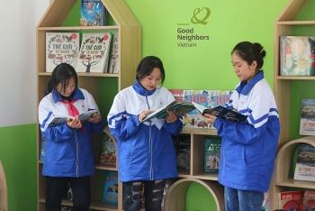 Tổ chức GNI hỗ trợ 2 tỷ đồng xây dựng Ký túc xá và Thư viện trường PTDT Bán trú THCS Yên Thành (Hà Giang)
