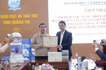 ALOV hỗ trợ 3.500 người dân miền Trung khám bệnh, phát thuốc
