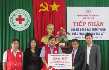 Cộng đồng người Việt tại Mỹ hỗ trợ tỉnh Phú Yên 300 triệu đồng