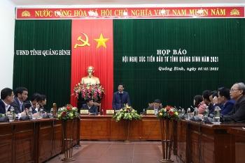 Họp báo thông tin Hội nghị Xúc tiến đầu tư tỉnh Quảng Bình năm 2021