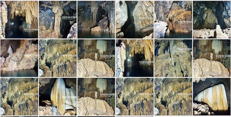 Bộ sưu tập hình ảnh từ một nhóm người đam mê thám hiểm không chuyên, trong quá trình tìm kiếm và khám phá