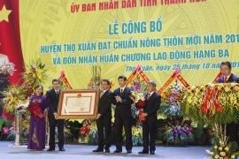 Thọ Xuân, Thanh Hóa: Hoàn thành kế hoạch KT- XH 6 tháng đầu năm 2020
