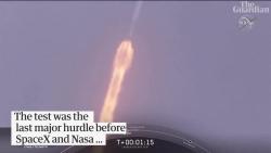 Video: Tàu vũ trụ thoát hiểm khó tin khi tên lửa Falcon 9 nổ tung trên trời