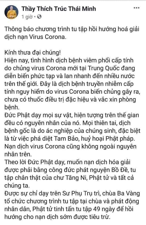 tin moi nhat vu chua ba vang rao giang nghi thuc hoa giai dich virus corona