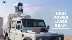 Video: Cận cảnh tổ hợp Drone Dome mới của Israel hủy diệt các UAV bằng tia laser