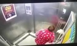 Video: Người phụ nữ liên tục nhổ nước bọt vào nút bấm thang máy giữa dịch Corona