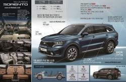 KIA Sorento 2021 sẽ có động cơ Hybrid với sức mạnh tới 230 mã lực