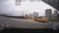 video xe buyt khong lam chu toc do dam nat than xe tai