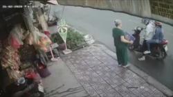 video phan no canh doi nam nu cuop thung bia cua ba cu giua ban ngay