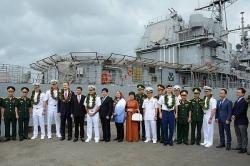 Bộ Ngoại giao lên tiếng về việc tàu sân bay Hoa Kỳ thăm Đà Nẵng