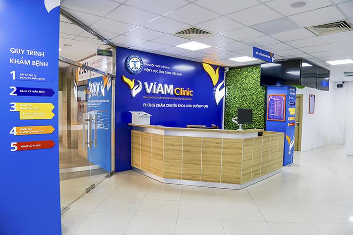 phong kham chuyen khoa dinh duong viam clinic nhan giai thuong uy tin the best brands in global award 2019