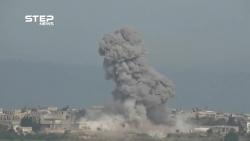 video he thong phong khong syria ban ha ten lua tu israel rung nhu sung
