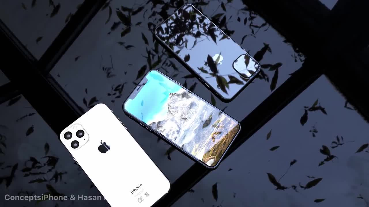 video ban concept iphone xi iphone xi max va iphone xr 2 khien nguoi xem me man