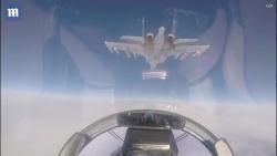 """Video: """"Sát thủ bầu trời"""" Su-35 Nga phô diễn sức mạnh vô đối"""
