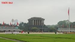 Video: Lễ thượng cờ trên Quảng trường Ba Đình lịch sử trong ngày sinh nhật Bác