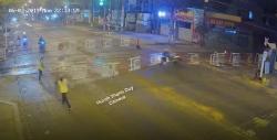 video khoanh khac tau hoa dam bay taxi mai linh xuong ruong 5 nguoi thuong vong