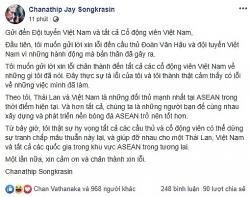messi thai lan bat ngo xin loi vi da deu van hau tren facebook