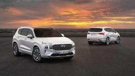 Video: Cận cảnh Hyundai Santa Fe 2021, sắp cập bến Việt Nam