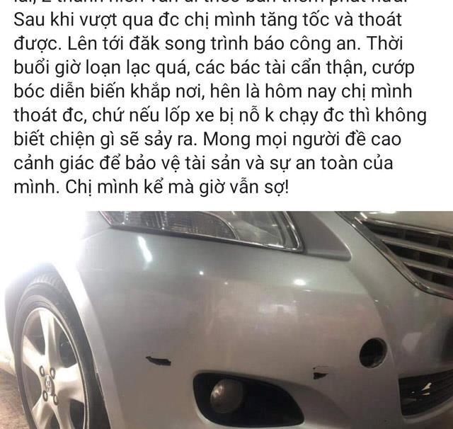thuc hu nu tai xe bi cuop ban 2 phat sung tren duong ho chi minh