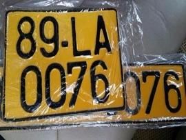 Xe kinh doanh vận tải sẽ đổi biển số sang màu vàng từ ngày 1/8