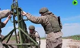 """Clip: Xem pháo binh Nga triển khai diệt mục tiêu rồi rút đi """"thần tốc"""""""