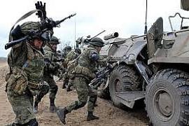 Clip: Quân đội Nga bất ngờ đặt trong tình trạng