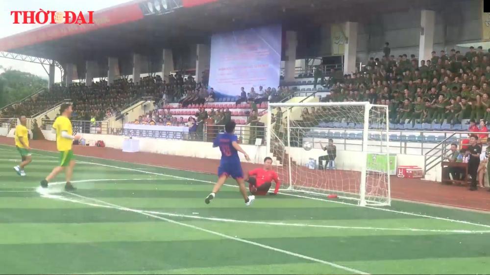 Video: Hấp dẫn giải giao hữu bóng đá quốc tế giữa Bộ Công an và Đại sứ quán các nước tại Việt Nam