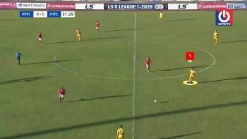 Clip: Pha ghi bàn sau 14 đường chuyền liên tục hiếm có nhất vòng 11 V-League 2020