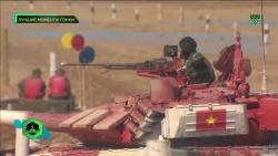 Video: Đua xe tăng tại Nga, đội Việt Nam rộng cửa vào chung kết