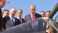Video: Cận cảnh tiêm kích Su-57 khiến Tổng thống Thổ Nhĩ Kỳ phải kinh ngạc