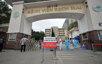 Các bệnh viện ở Hà Nội ráo riết phòng ngừa lây nhiễm COVID-19