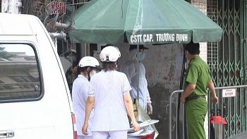 Cận cảnh ngõ 147 Trương Định bị phong tỏa sau khi Hà Nội phát hiện ca nhiễm COVID-19 thứ 10
