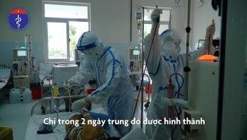 Clip: Kỳ tích 2 ngày biến Trung tâm Y tế Hòa Vang thành cơ sở hiện đại cứu chữa bệnh nhân COVID-19