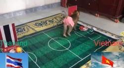 video tranh cai voi trong tai thay park tro thanh hlv dau tien nhan the vang o world cup