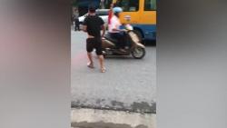 video tai xe xe khach chan danh nhau giua duong nhu phim giang ho