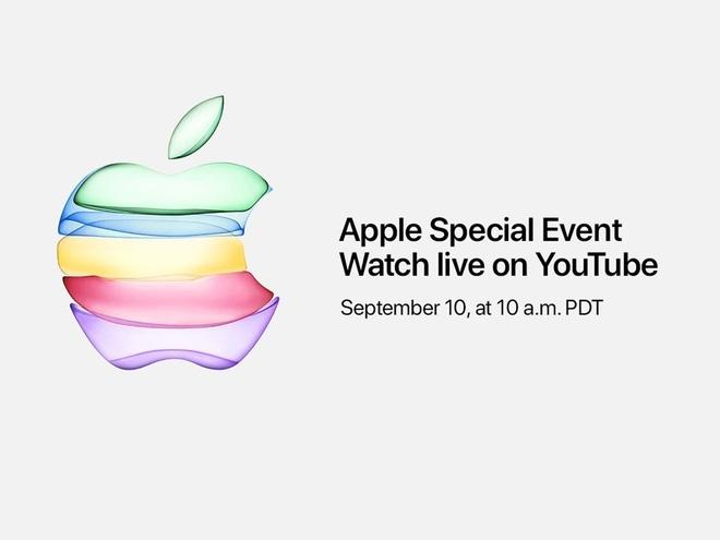 link xem truc tiep apple ra mat bo 3 iphone 11 vao 0h ngay 119