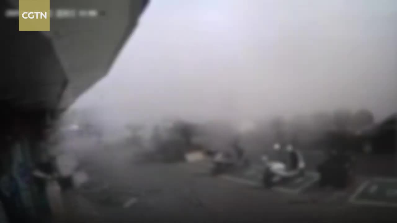 video ro khi gas quan an no tung 19 nguoi thuong vong