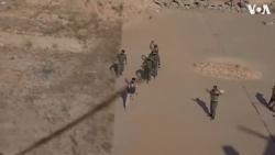 Video: Binh sĩ Syria hò reo khi thấy quân đội Nga đổ bộ xuống căn cứ không quân