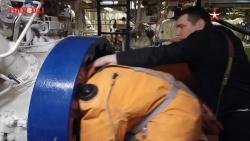 Thủy thủ Nga thoát hiểm điêu luyện từ tàu ngầm hạt nhân gặp nạn