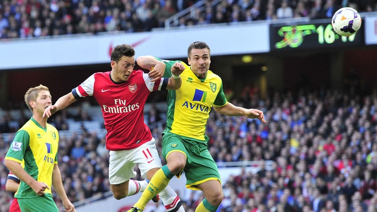 link xem truc tiep norwich city vs arsenal