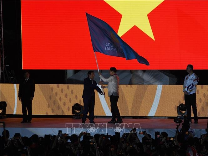 viet nam chinh thuc nhan la co dang cai sea games 31
