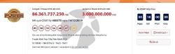 Kết quả xổ số Vietlott Power 6/55 ngày 17/12/2019: Hơn 89 tỉ đồng đã về đâu?