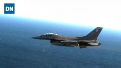 Video: F-16 của Mỹ phóng tên lửa rẻ tiền vẫn hủy diệt UAV trong tích tắc