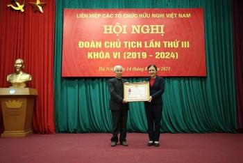 Ông Nguyễn Văn Doanh được bầu là Phó Chủ tịch VUFO nhiệm kỳ 2019-2024